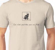 Le Chat de Schrödinger (dark) Unisex T-Shirt