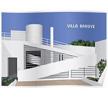 Villa Savoye à Poissy Poster