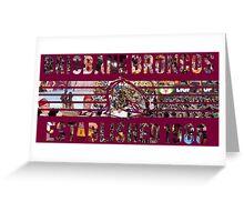 Brisbane Broncos - NRL Greeting Card