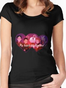 My Adorkable Romance Women's Fitted Scoop T-Shirt