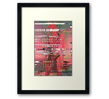 Miss Electric Framed Print