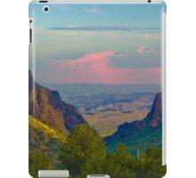 Chisos Mountains - Big Bend National Park iPad Case/Skin