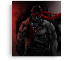 EVIL Ryu So badass Street Fighter Canvas Print