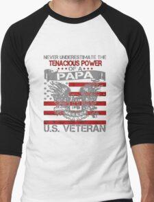 U.S.A! Veteran - Veteran Papa!! T-Shirt