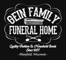 Gein Family Funeral Home by killersnmadmen