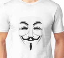 Anonymous (Face) Unisex T-Shirt