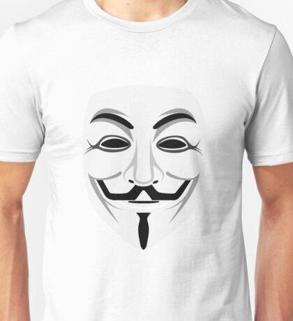 Anonymous (Face) Unisex T-Shirt