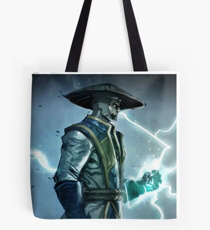 Raiden, Mortal Kombat Tote Bag