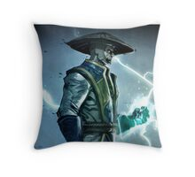 Raiden, Mortal Kombat Throw Pillow