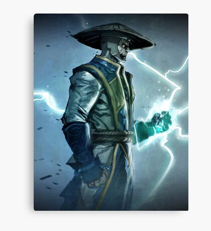 Raiden, Mortal Kombat Canvas Print