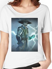 Raiden, Mortal Kombat Women's Relaxed Fit T-Shirt