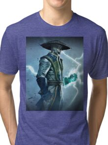 Raiden, Mortal Kombat Tri-blend T-Shirt