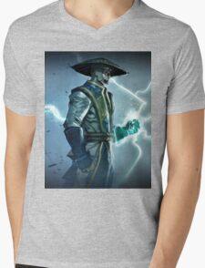 Raiden, Mortal Kombat Mens V-Neck T-Shirt