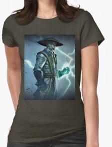 Raiden, Mortal Kombat Womens Fitted T-Shirt