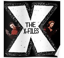 The X-Files Mulder and Scully Poster