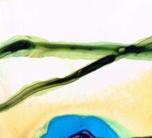 Modern Abstract Art - A Perfect Moment - Sharon Cummings Sticker