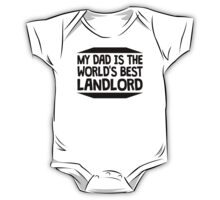 My Dad Is The World's Best Landlord One Piece - Short Sleeve