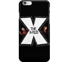 The X-Files Mulder and Scully iPhone Case/Skin