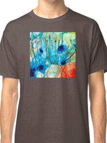 Unique Art - A Touch Of Red - Sharon Cummings Classic T-Shirt