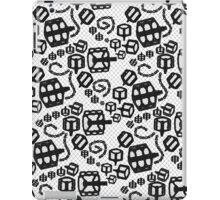 Lace Bicycle Parts Black iPad Case/Skin