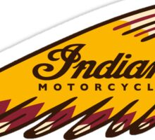 motorcycle classic indian Sticker
