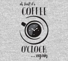 Coffee o'Clock Kids Tee