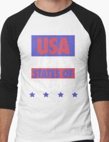 United States of Awesome - USA Men's Baseball ¾ T-Shirt