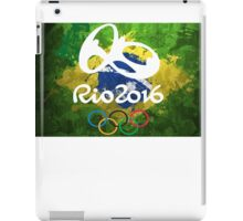 RIO 2016 Brazil Olympics  iPad Case/Skin