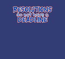 NYE Resolutions Unisex T-Shirt