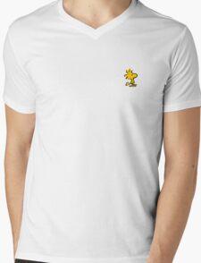 woodstock cartoon snoopy Mens V-Neck T-Shirt