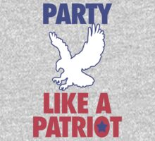 Party Like A Patriot - USA! by geekingoutfitte