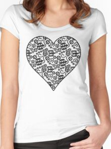 Lacy Tandem Love Women's Fitted Scoop T-Shirt
