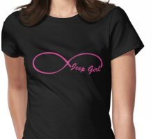 Jeep Girl 8 Womens Fitted T-Shirt