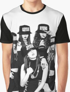 4Minute - Crazy Graphic T-Shirt