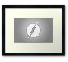 Flash SuperHero Comics Goodie's Framed Print