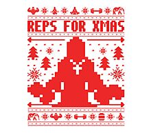 Reps For Xmas Photographic Print