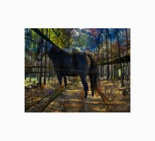 HORSE in the forest Unisex T-Shirt