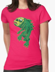 Creature From Some Lagoon Womens Fitted T-Shirt