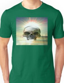 Skull Sunset Unisex T-Shirt