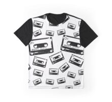Cassette Dropping Graphic T-Shirt