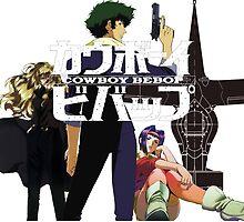 Spike Faye Julia Cowboy Bebop by NikuNoKao