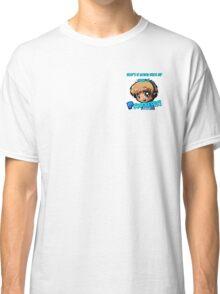 PewDiePie Cartoon With Slogan Classic T-Shirt