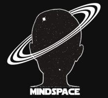 Mindspace Sci-fi Space Design Kids Tee