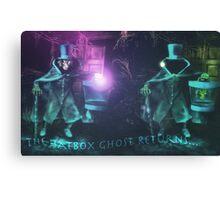 The Hatbox Ghost Returns Canvas Print