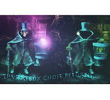 The Hatbox Ghost Returns Photographic Print