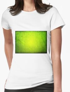 Old green dark paper texture background T-Shirt