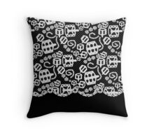 Lace Tandem Love Throw Pillow