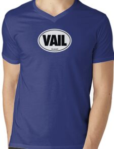 VAIL - EURO STICKER Mens V-Neck T-Shirt