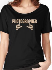 Photographer Fingers Women's Relaxed Fit T-Shirt