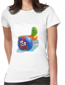 Float Buddies!  Womens Fitted T-Shirt